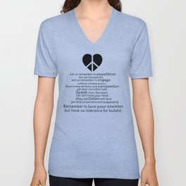A New Pledge Unisex V-Neck