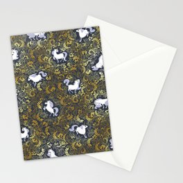 Unicorn pattern Stationery Cards