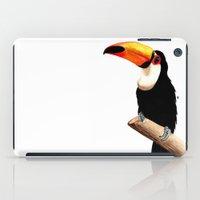 toucan iPad Cases featuring Toucan by Bridget Davidson