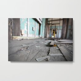 Broken Glass, Lower Ninth Ward  Metal Print