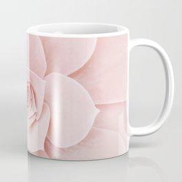 Blush Succulent Coffee Mug