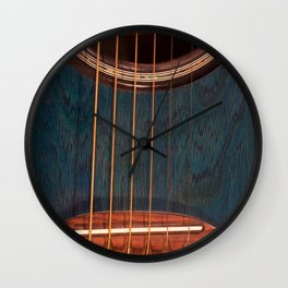 Acoustic Study Wall Clock