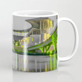 Baylor McLane Football Stadium Green Print Coffee Mug
