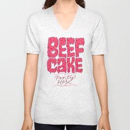 Beefcake Pantyhose Unisex V-Neck