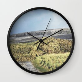 Tuft and Stone - Landscape Photography Wall Clock