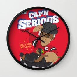 Cap'n Serious  Wall Clock