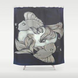 Moon Spirits Shower Curtain