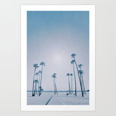 summer dissipation Art Print