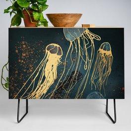 Metallic Jellyfish Credenza