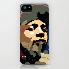 DJ RASHAD iPhone Case