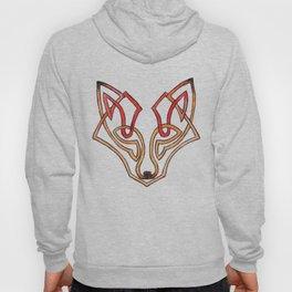 Celtic fox - celtic knot Hoody