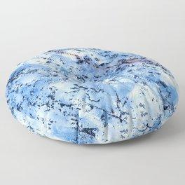 Blue Tone Quartzite Detail with Marble Effect Floor Pillow