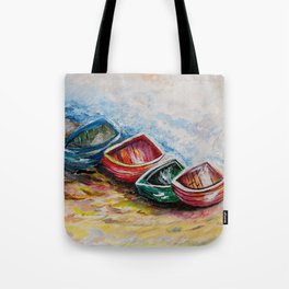 In from the Sea Tote Bag