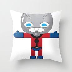 ANTMAN ROBOTIC Throw Pillow