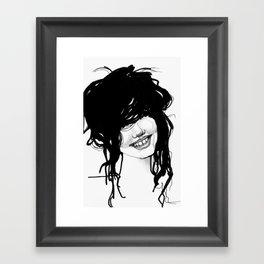 Messy Framed Art Print