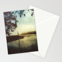 Moody Gulf Coast Morning Stationery Cards
