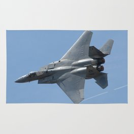 F-15 fly-by with afterburners Rug