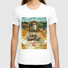 lion warrior - cara dura! T-shirt