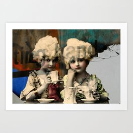 Toast to you Art Print