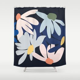 Blooms of hope Shower Curtain