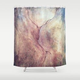 Wounds of Division Shower Curtain