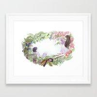 fairies Framed Art Prints featuring fairies by acca