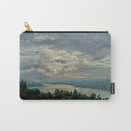 After the Storm _ Keuka Lake Carry-All Pouch