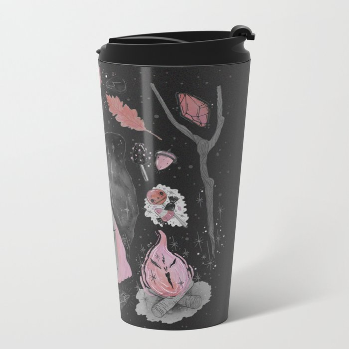 Magical ϟ Autumn Metal Travel Mug