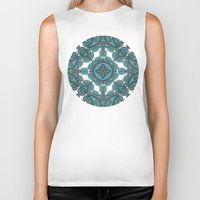 paisley Biker Tanks featuring paisley by gtrappdesign