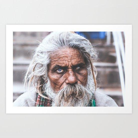The Eyes of India Art Print