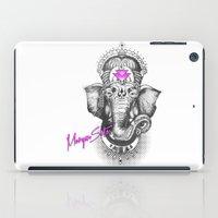 ganesha iPad Cases featuring Ganesha by Morgan Soto