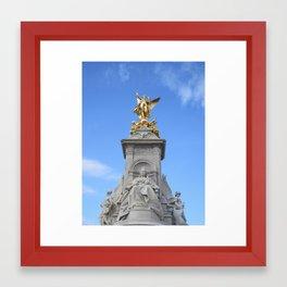 Victoria Memorial, London Framed Art Print