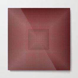 Cubed Metal Print