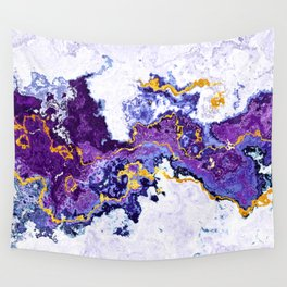 Abstract Marble Wall Tapestry