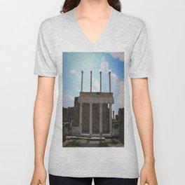 Pompeii Unisex V-Neck