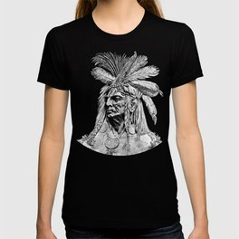 Chief / Vintage illustration redrawn and repurposed T-shirt