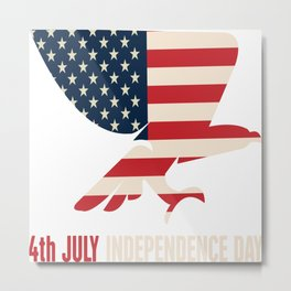 4th Of July Independence Day Metal Print