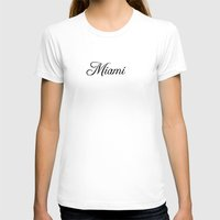 miami T-shirts featuring Miami by Blocks & Boroughs