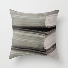 Hard Bound Pages  Throw Pillow