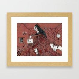 Schneewittchen-The House of the Seven Dwarfs Framed Art Print