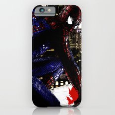 Spiderman in London Close up iPhone 6 Slim Case