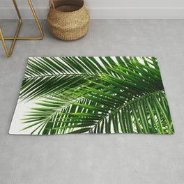 Palm Leaves #3 Rug