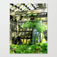Nature Taking Over 2 Canvas Print