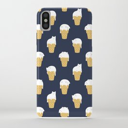 Meowlting Pattern iPhone Case