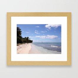 Stranded on Paradise Framed Art Print