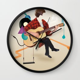 ILOVEMUSIC #1 Wall Clock