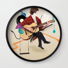 ILOVEMUSIC #1 Wall Clock