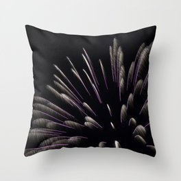 Showers Throw Pillow