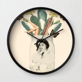Jars of beauty Wall Clock