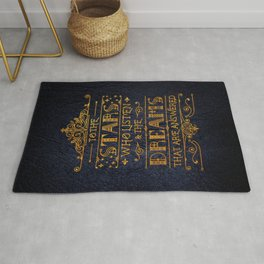 To the stars who listen Rug